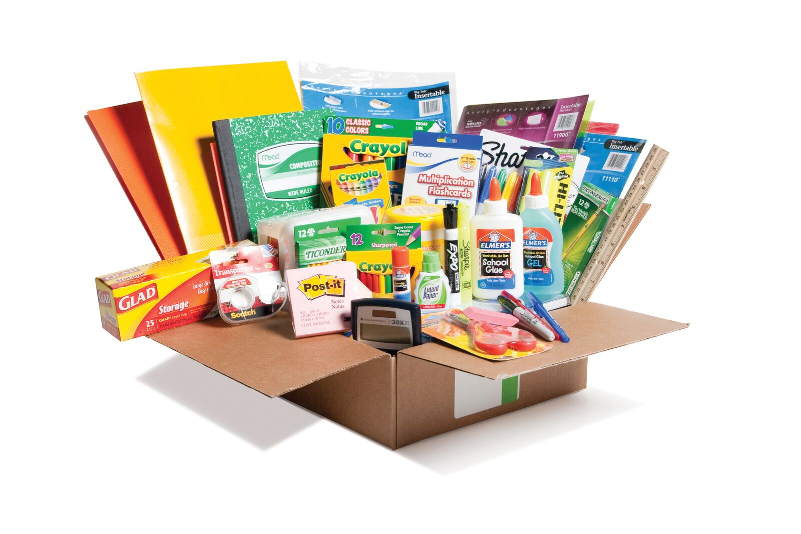 school supplies kits
